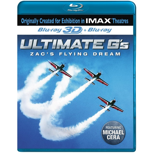 IMAX Ultimate G's Zacs Flying Dream [Blu-ray]