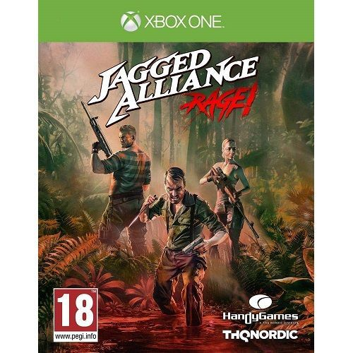 Jagged Alliance Rage Xbox One Game