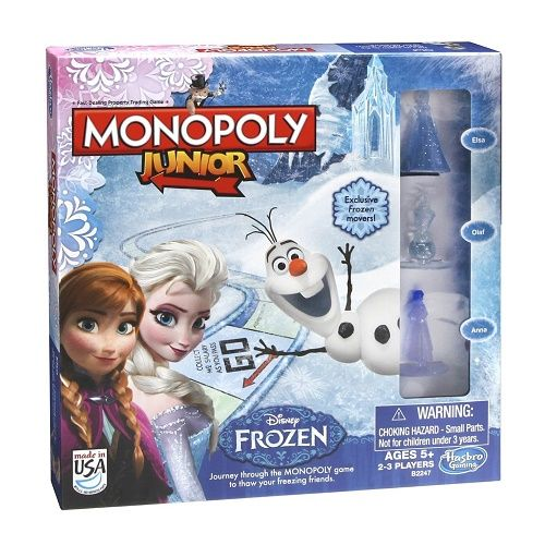 Junior Frozen Edition Monopoly Board Game