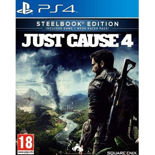 Just Cause 4 Steelbook Edition PS4 Game