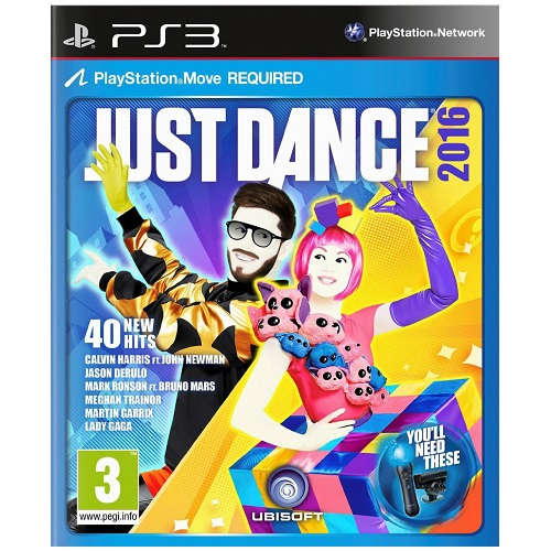 Just Dance 2016 PS3 Game