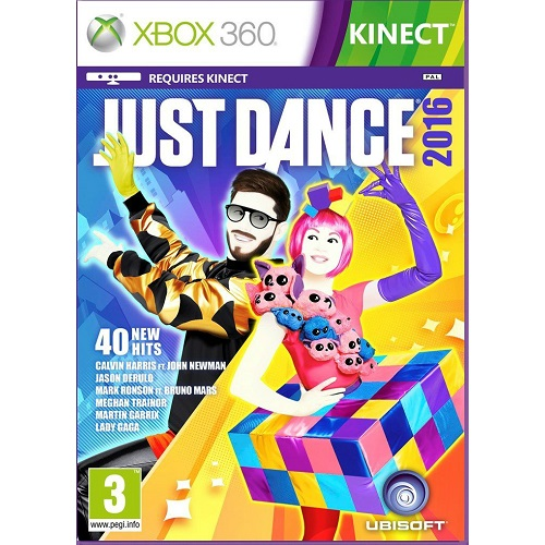 Just Dance 2016 Xbox 360 Game