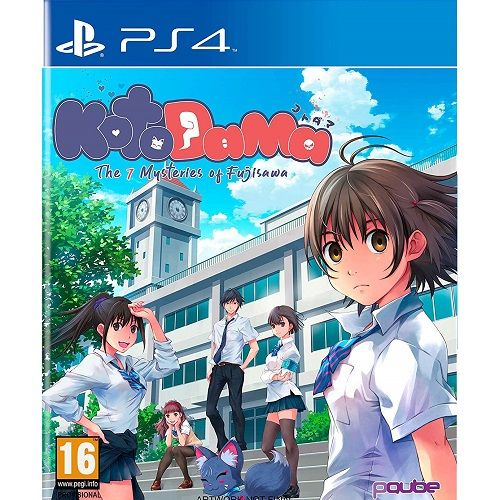 Kotodama The 7 Mysteries of Fujisawa PS4 Game