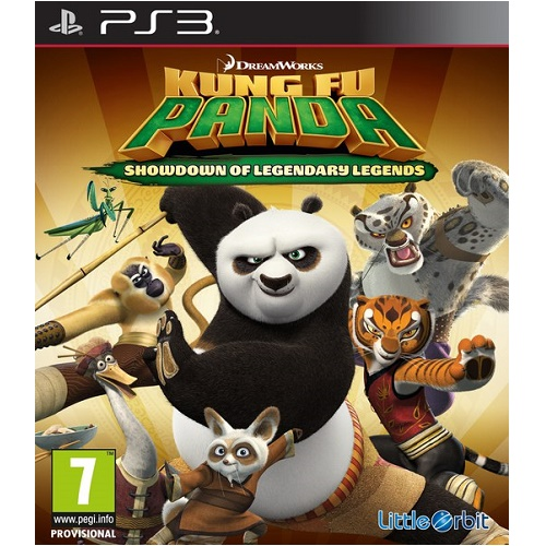 Kung Fu Panda Legendary Legends PS3 Game