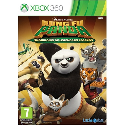 Kung Fu Panda Legendary Legends Xbox 360 Game