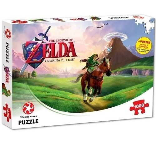 Legend of Zelda Ocarina of Time 1000 Piece Jigsaw Puzzle