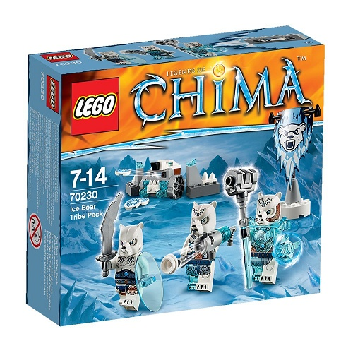 LEGO Chima Ice Bear Tribe Pack (70230)