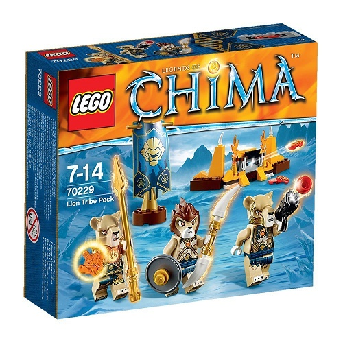 LEGO Chima Lion Tribe Pack (70229)