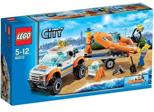 LEGO City 4x4 and Driving Boat Playset 60012
