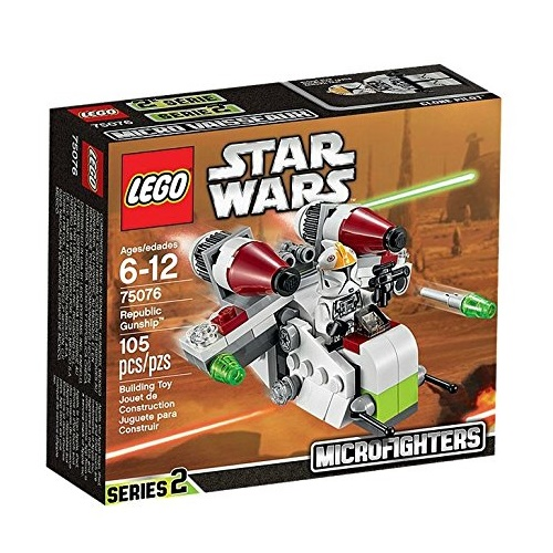 LEGO Star Wars Micro Republic Gunship (75076)