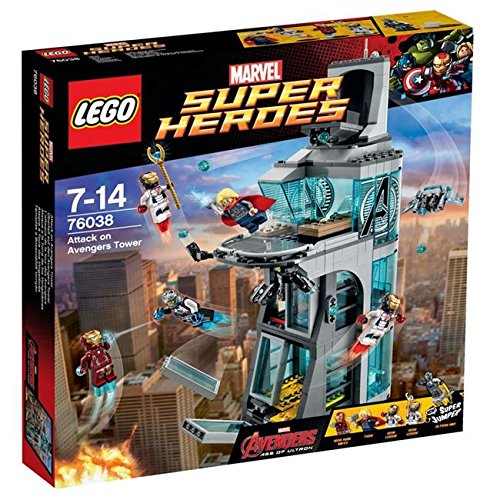 Lego Super Heroes Attack on Avengers Tower (76038)
