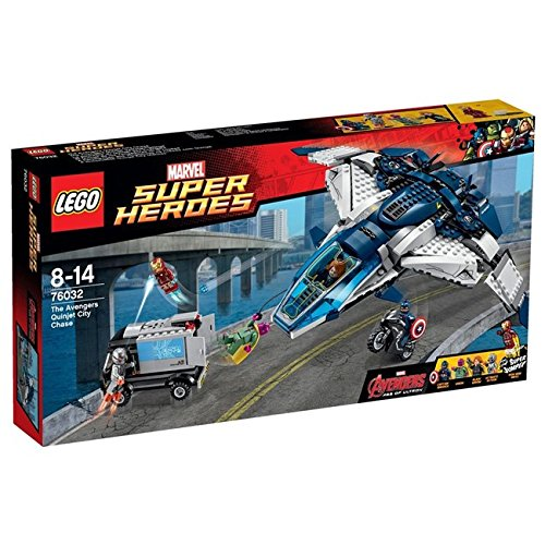Lego Super Heroes The Avengers Quinjet City Chase (76032)