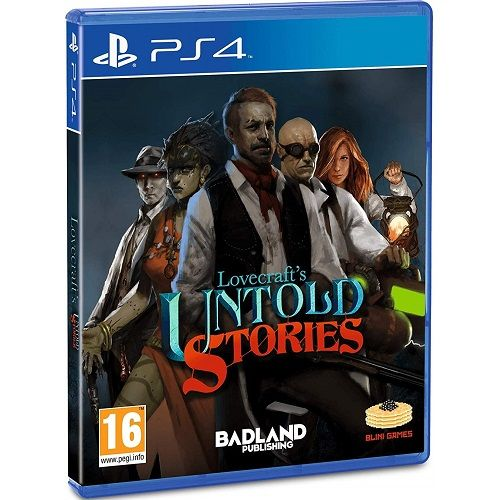 Lovecrafts Untold Stories PS4 Game