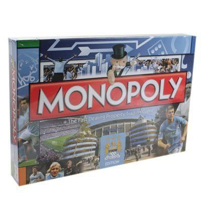 Man City FC Edition Monopoly Board Game
