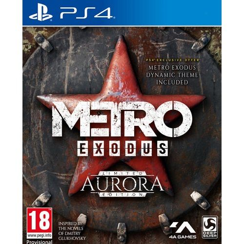 Metro Exodus Aurora Limited Edition PS4 Game