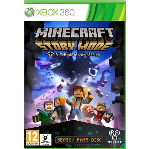 Minecraft Story Mode Xbox 360 Game