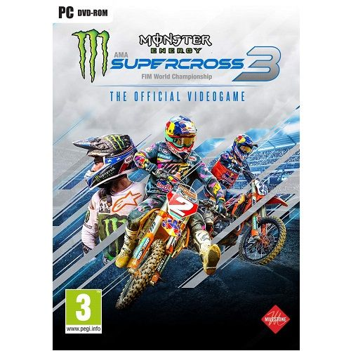 Monster Energy Supercross 3 PC Game