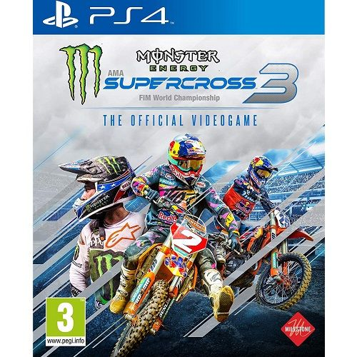 Monster Energy Supercross 3 PS4 Game