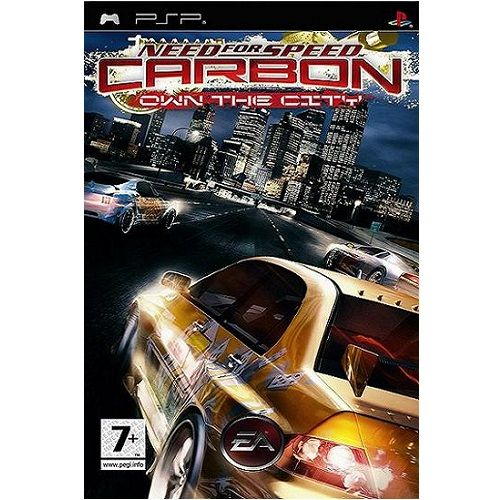 Need For Speed Carbon Own The City [Essentials] PSP Game