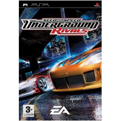 Need For Speed Underground Rivals [Essentials] PSP Game