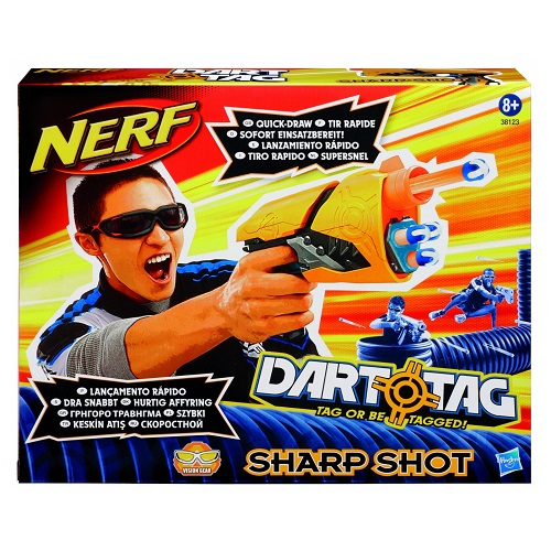 Nerf Dart Tag Sharp Shot | Gamereload.co.uk