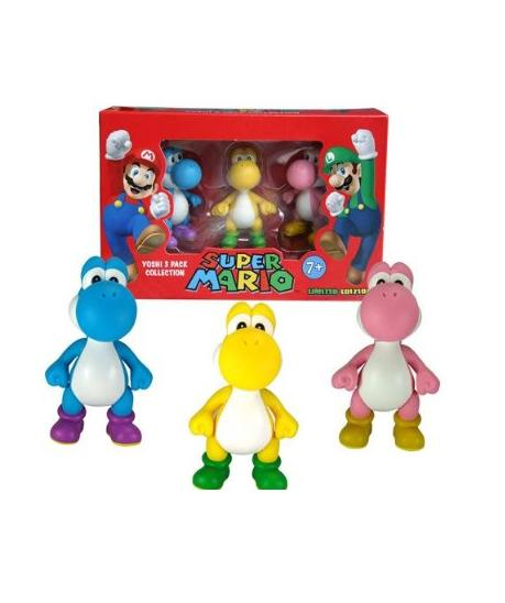 Nintendo Gift Pack Yoshi (6cm) (Contains 3 Figures) - Figures