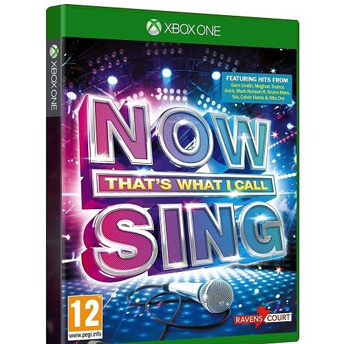 NOW Thats What I Call Sing Xbox One Game