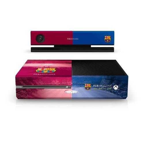 Official Barcelona FC Xbox One Console Skin