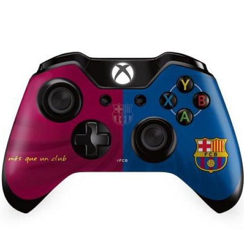 Official Barcelona FC Xbox One Controller Skin