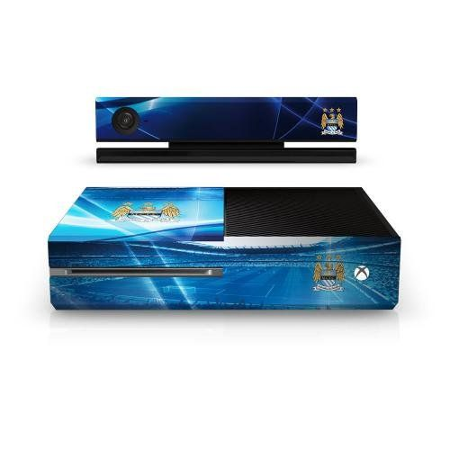 Official Manchester City FC Xbox One Console Skin