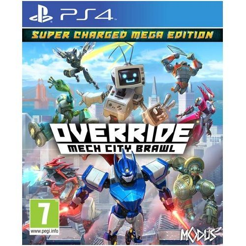 Override Mech City Brawl Super Charged Mega Edition PS4 Game