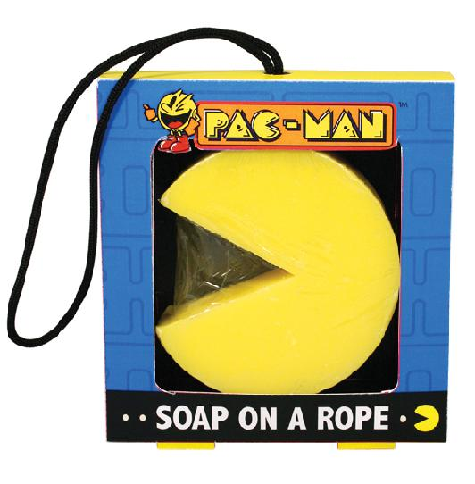 Pac-Man Soap on a Rope - Toys