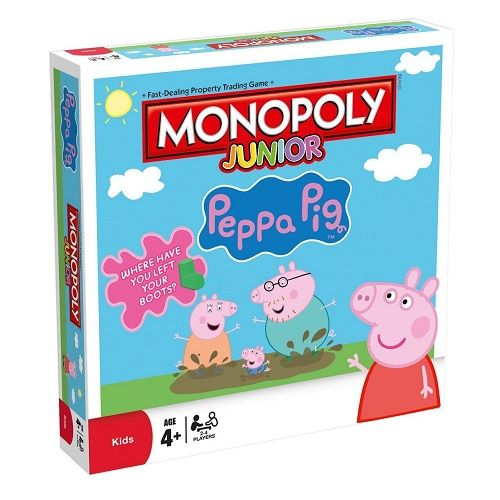 Peppa Pig Junior Monopoly