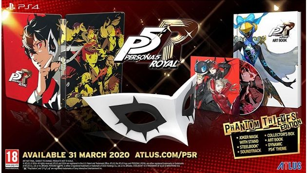 Persona 5 Royal Phantom Thieves Edition PS4 Game