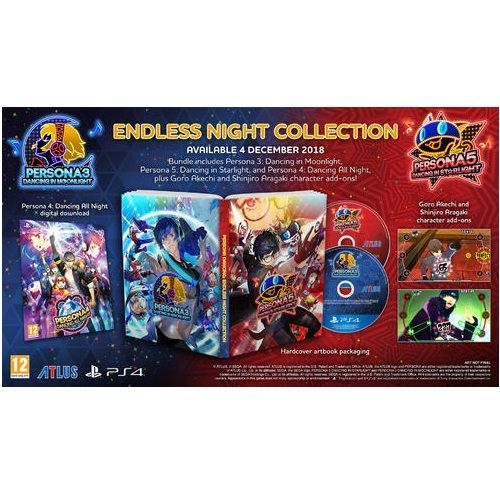 Persona Dancing Endless Night Collection PS4 Game