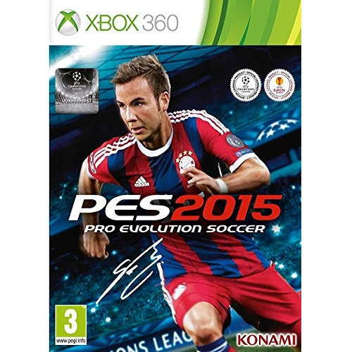PES 2015 Pro Evolution Soccer Xbox 360 Game