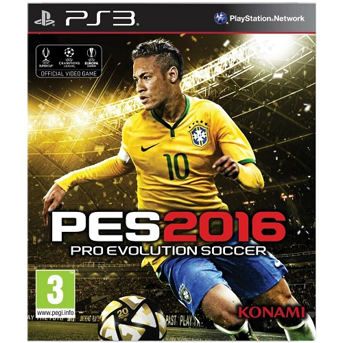 PES 2016 Pro Evolution Soccer PS3 Game