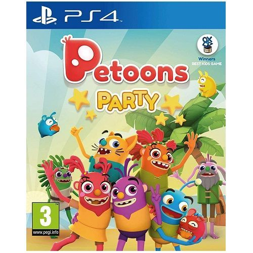 Petoons Party PS4 Game