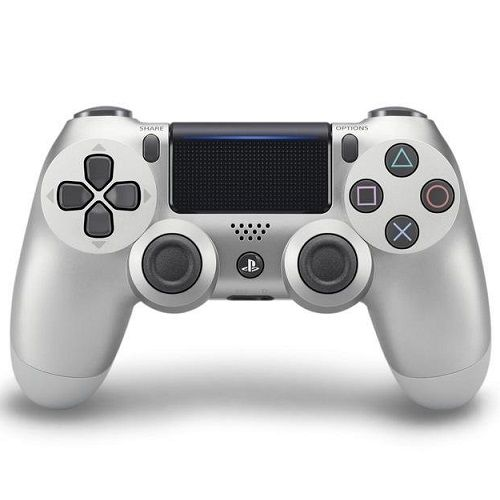 PlayStation DUALSHOCK 4 V2 Controller Silver PS4