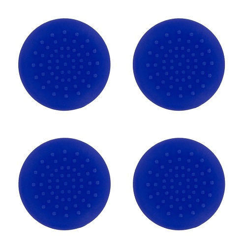 PS4 TPU Thumb Grips Blue Assecure