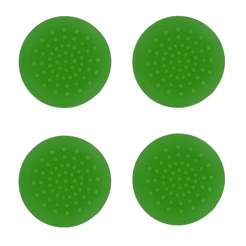 PS4 TPU Thumb Grips Green Assecure