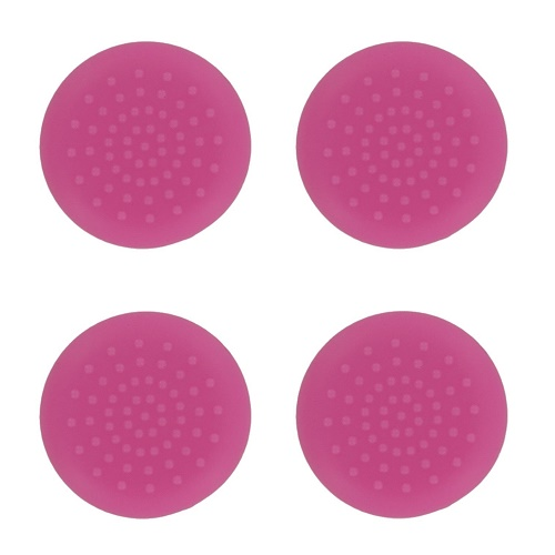 PS4 TPU Thumb Grips Pink Assecure
