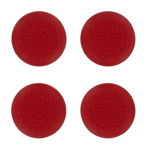 PS4 TPU Thumb Grips Red Assecure