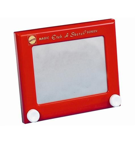 Red Etch a Sketch - Toys