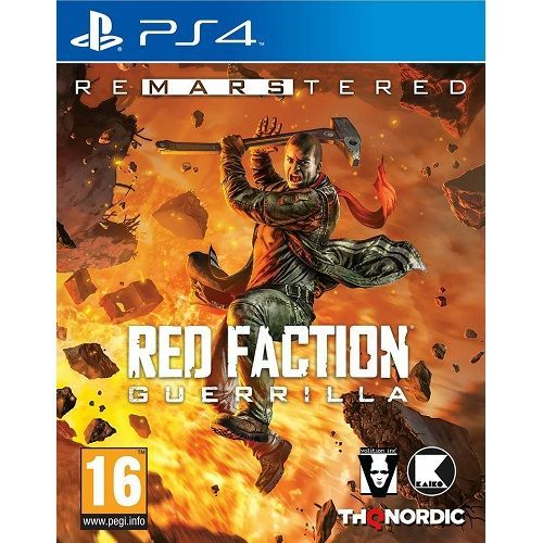 Red Faction Guerrilla Re-Mars-tered PS4 Game