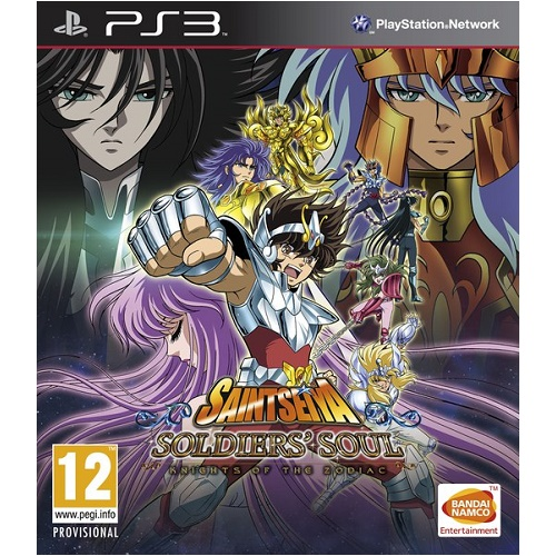 Saint Seiya Soldiers Soul PS3 Game