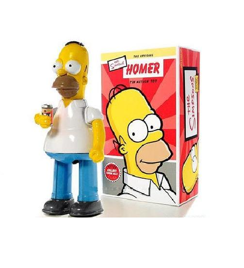 Simpsons Homer Tin Action Toy - Figures