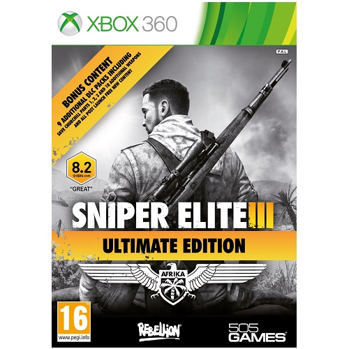 Sniper Elite III (3) Ultimate Edition Xbox 360 Game