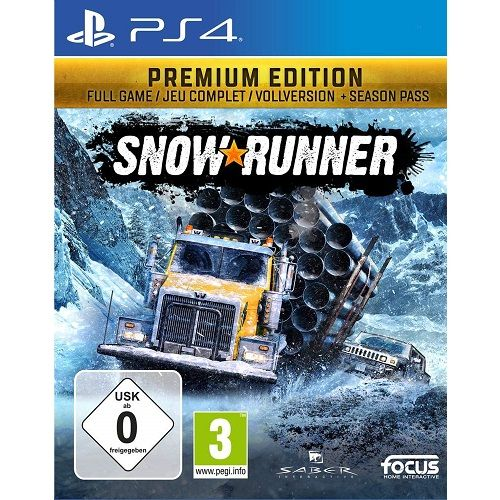 SnowRunner PREMIUM EDITION PS4 Game