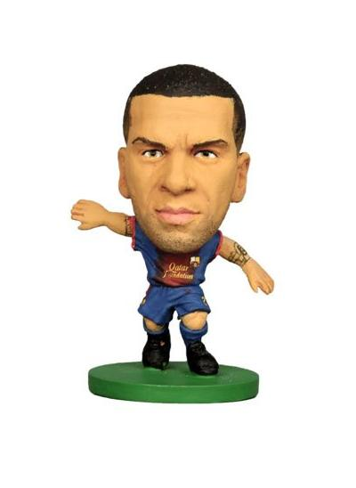 Soccerstarz Barcelona (2015) Dani Alves Home Kit